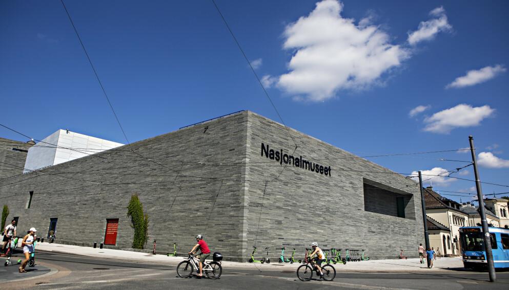 TAR TID: Mens nytt Nasjonalmuseum skal bygges og klargjøres, er museet altfor passivt, mener kunstkritiker Mona Pahle Bjerke. Åpningen skal finne sted neste sommer, etter forsinkelser. Foto: Frank Karlsen
