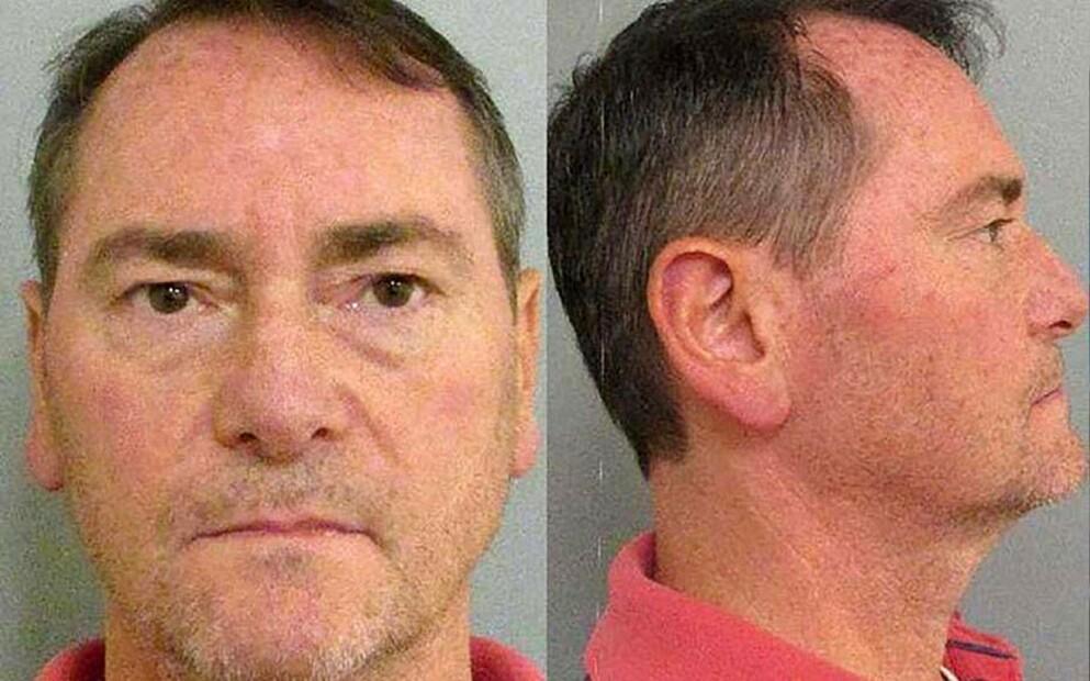 TATT: Den tidligere FBI-agenten David Harris på politiets arrestasjonsfoto. Foto: Politiet