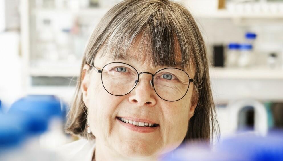 ANTISTOFFER: Ifølge immunolog Anne Spurkland vil fallet i antistoffer etter vaksinasjon kunne føre til smitte over tid. Foto: Hans Arne Vedlog / Dagbladet