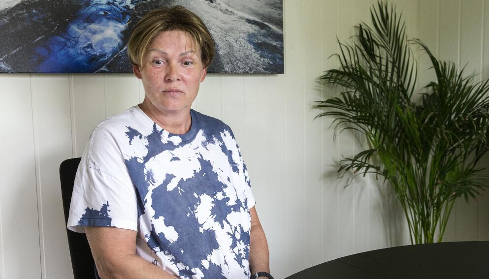 YNGST: Vanja Johansen er yngst av søskenflokken, som ble kalt «Øystein-ungan» på Værøy. Foto: Henning Lillegård / Dagbladet.