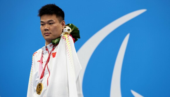 KJENT SYN: Tao Zheng ble har tatt storeslem under Paralympics. Foto: Behrouz MEHRI / AFP