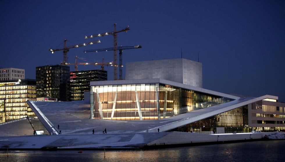 KONSERT I KVELD: Lise Davidsen synger i Operaen i kveld. Streikebryteri, mener LO . Foto: Erling Hælgeland