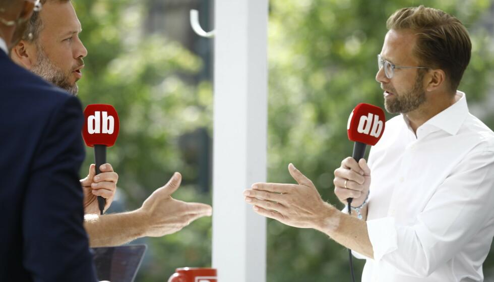 RYSTET: Audun Lysbakken (SV) sier at han nesten blir rystet over hvordan Nikolai Astrup (H) og andre Høyre-politikerne avfeier SSB-forskningen om økte økonomiske ulikheter. Foto: Frank Karlsen/ Dagbladet