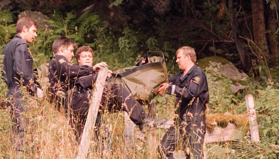 IKKE SAMMENHENG: Politiet avviser at mannen kan knyttes til Trude Espås-saken. Espås ble funnet drept i Geiranger i 1996. Foto: Marit Hommedal / NTB