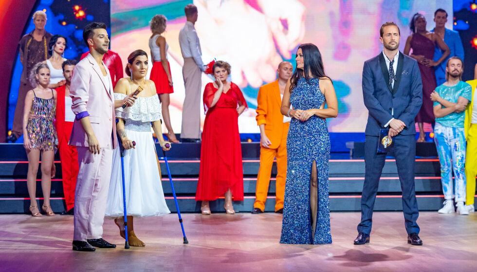 DISEGNO LACRIME: Isleen Guttormsen era così in lacrime che sabato le è stato detto che era fuori concorso.  Foto: Thomas Andersen / TV 2