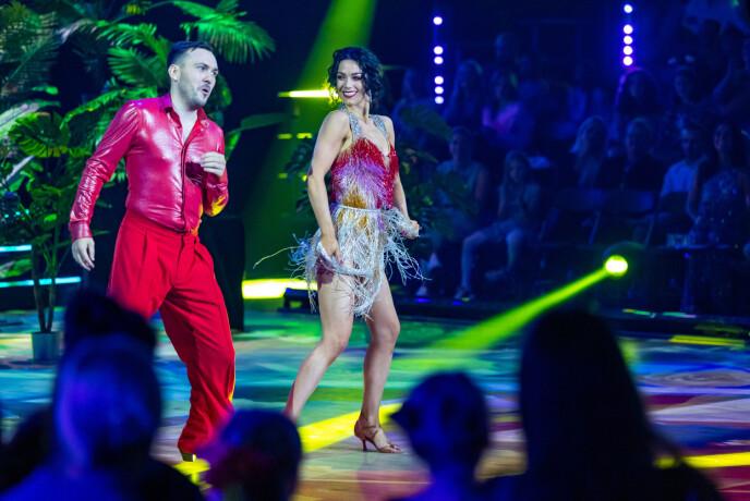 Grande sforzo: gli sforzi di Dennis e Lillian sono stati elogiati.  Foto: Thomas Andersen / TV 2