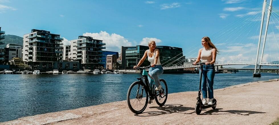 Tilbud på Norges mest solgte elsparkesykkel elsykkel