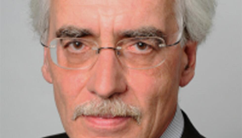 KRITISK: Professor Reinhard Schulze. Foto: Berkley College