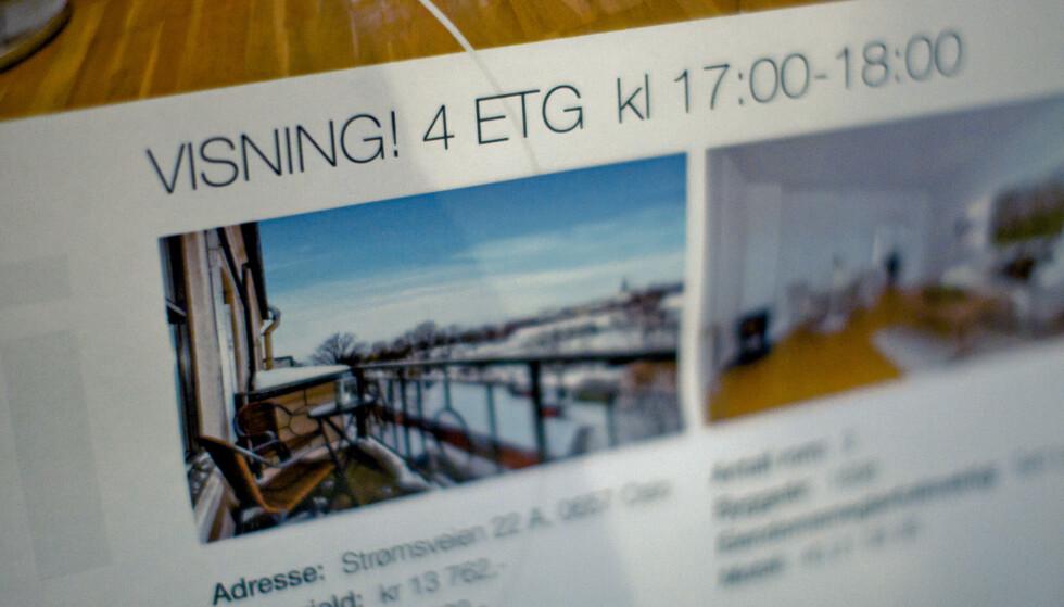 PÅ TIDE Å LIKEBEHANDLE: I snitt betaler leietakere mer i leie enn boligeiere betaler i renter og avdrag. Likevel øker andelen som leier bolig. Det taler for at det er på tide skattemessig å likebehandle leie med eie, skriver innsenderen. Foto: Krister Sørbø / NTB