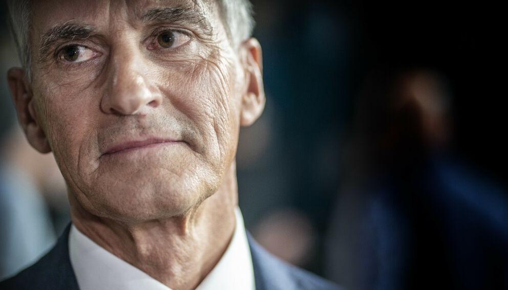 INGEN DASJ: Ap-leder Jonas Gahr Støre går ikke med på at man gir Ap en sasj med ditt og en dasj med datt. Foto : Hans Arne Vedlog / Dagbladet