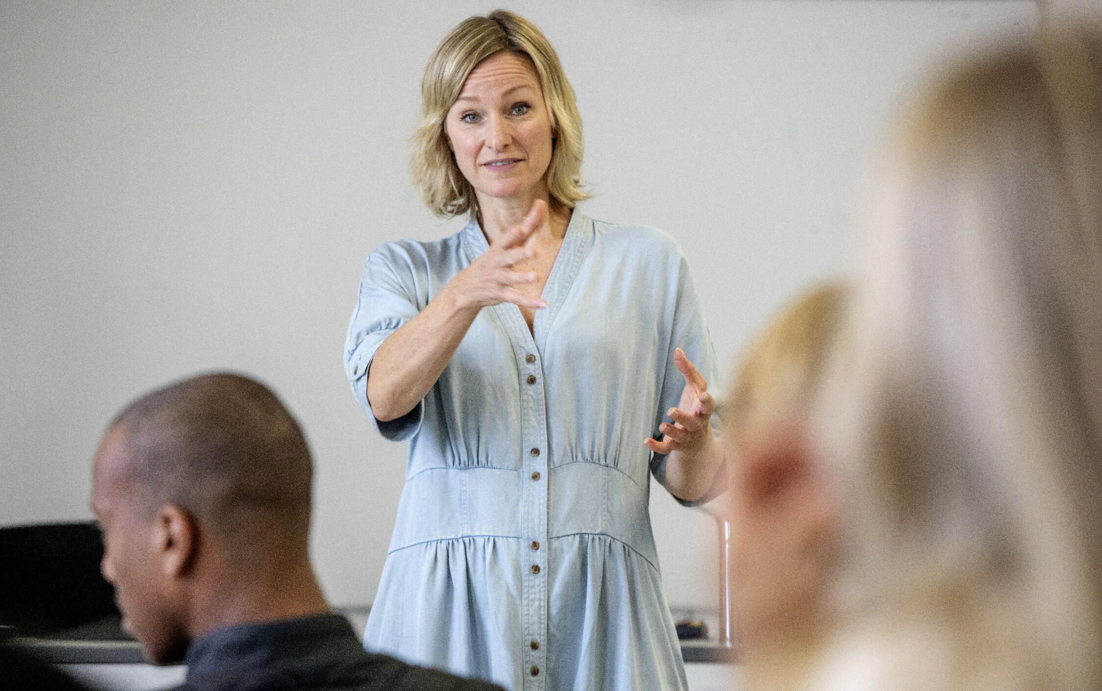 ET VERKTØY: Massetesting er et verktøy på vei mot full vaksinedekning, mener Inga Marte Thorkildsen. Foto: Nina Hansen / DAGBLADET