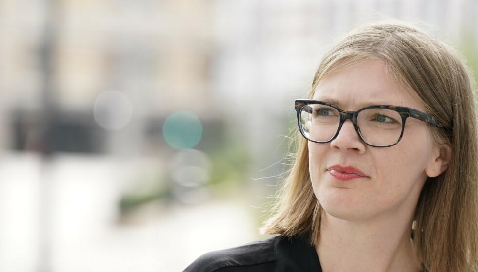 BARNETRYGD: Stortingskandidat for Rødt, Marie Sneve Martinussen, mener det er sykt at de aller fattigste familiene i Norge ikke mottar barnetrygd. Foto: Hans Arne Vedlog / Dagbladet