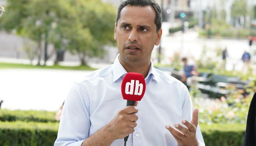 INNVANDRING: Stortingsrepresentant for Høyre, Mudassar Hussain Kapur, mener at innvandring er grunnen til en stadig økning av barnefattigdom. Foto: Hans Arne Vedlog / Dagbladet.