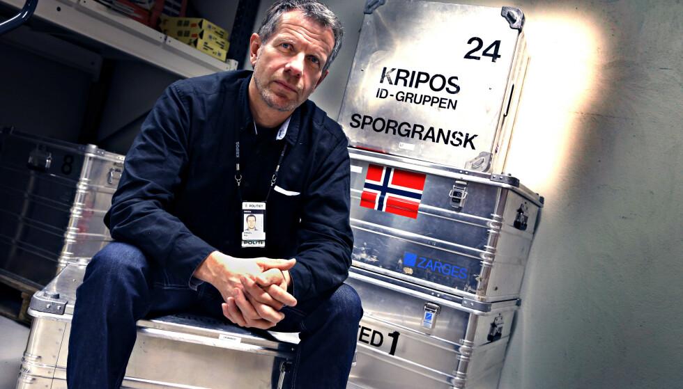 EKSPERT: Per Angel har i flere år jobbet for Kripos med å sikre spor på åssted. Foto: Jacques Hvistendahl / Dagbladet