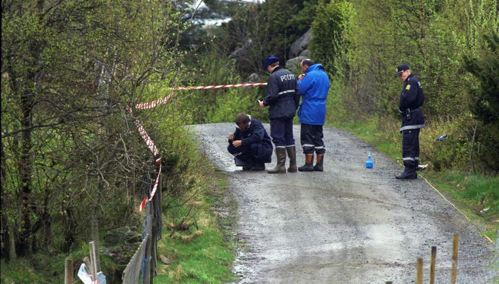 ÅSTEDET: Da Birgitte Tengs ble funnet i 1995, ble det lagret flere spor på åstedet. Foto: Bjørn Langsem / Dagbladet