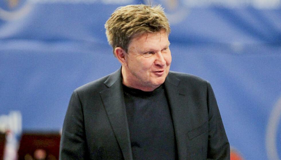 REAGERER: President i håndballforbundet Kåre Geir Lio. Foto: Aleksandar Djorovic / NTB