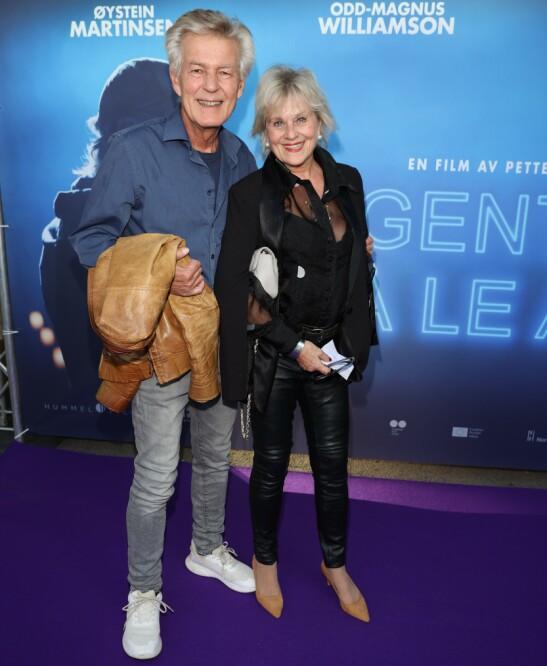 STJERNEPAR: Lasse Lindtner og Anne Marie Ottersen. Foto: Andreas Fadum/Se og Hør
