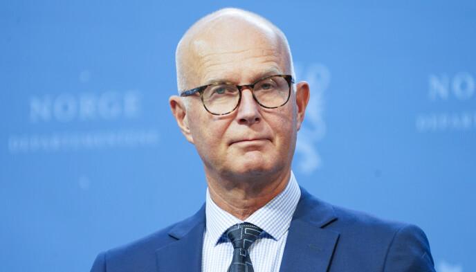 HELSEDIREKTØR: Bjørn Guldvog. Foto: Torstein Bøe / NTB