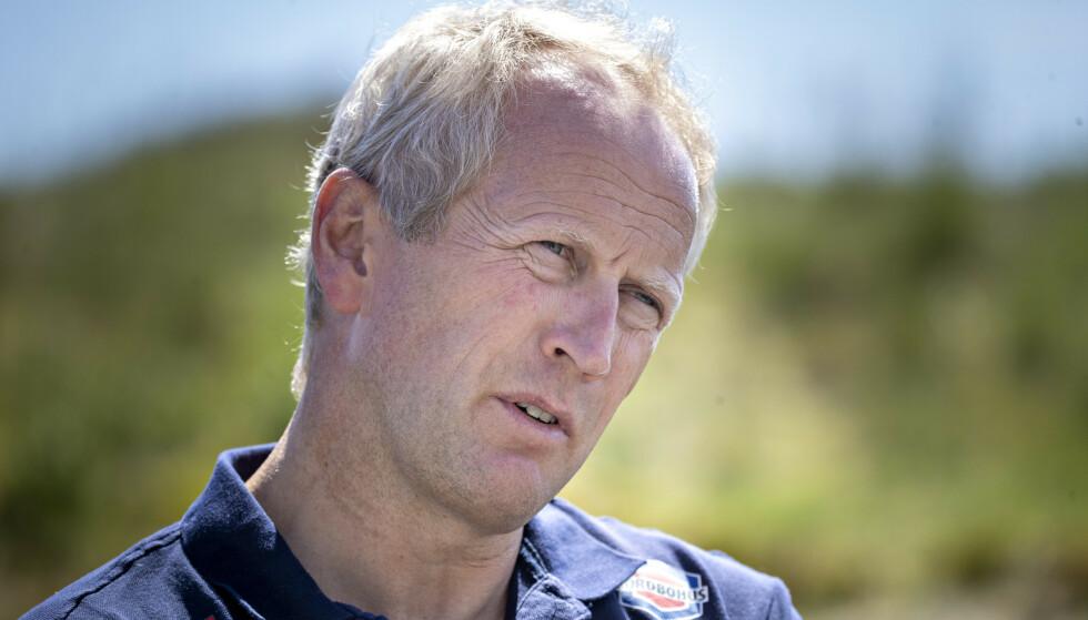 ACKNOWLEDGES THE PROBLEM: Cross-country skier Espen Bjervig.  Photo: Bjørn Langsem / Dagbladet