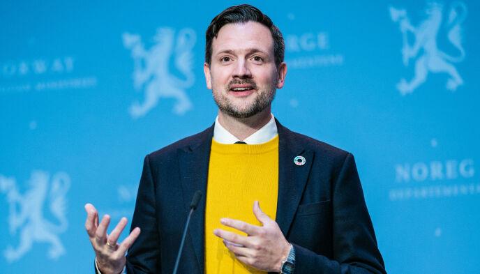 SLÅR ALARM: Utviklingsminister Dag-Inge Ulstein. Foto: Stian Lysberg Solum / NTB