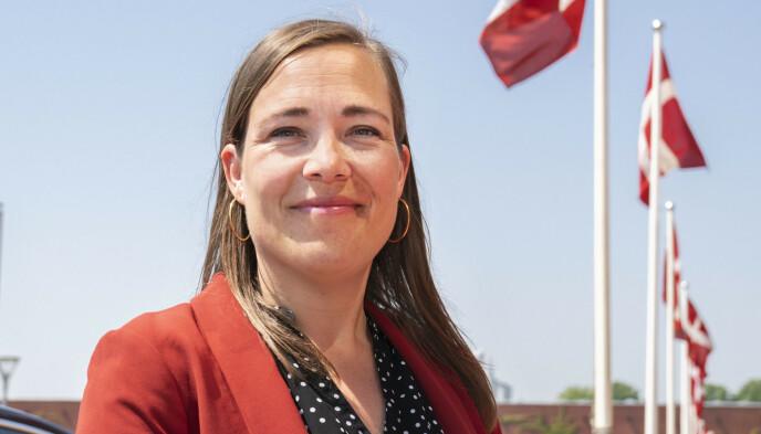 ORDKNAPP: Danmarks sosial- og eldreminister Astrid Krag får kritikk for å ikke ha gjort mer for Heidi og Bo Trawel. Foto: AP