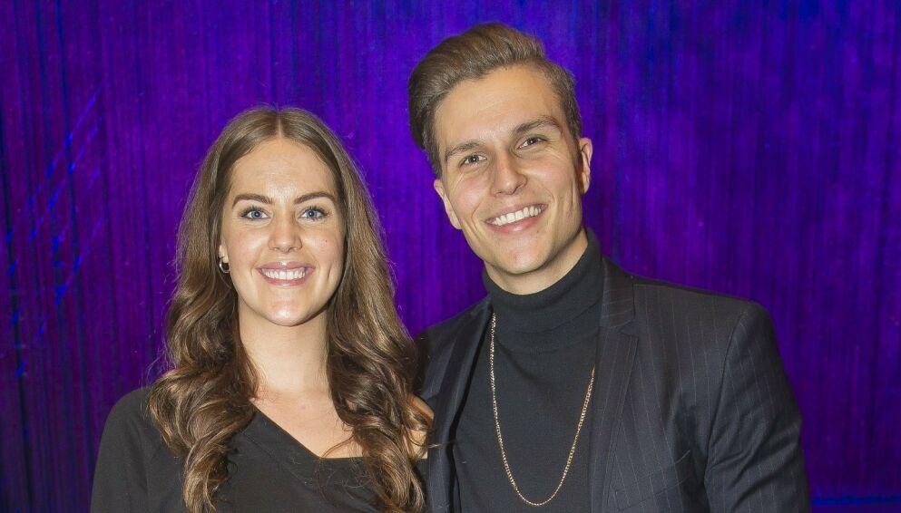 VENTER BARN: Atle Pettersen og Cathrine Eide blir snart foreldre til ei lita jente. Foto: Tore Skaar / Se og Hør