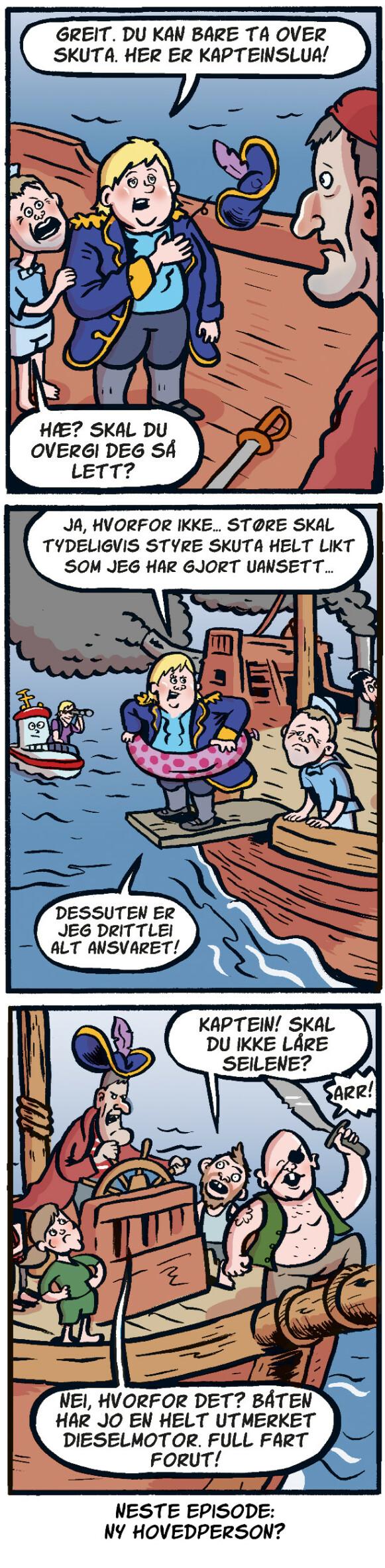 Et politisk sjøslag