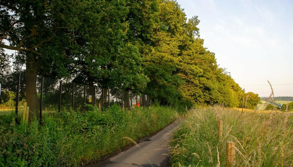 FYLKET: I fylket Buckinghamshire ble det funnet rundt 80 skjeletter på en byggeplass. FOTO: NTB