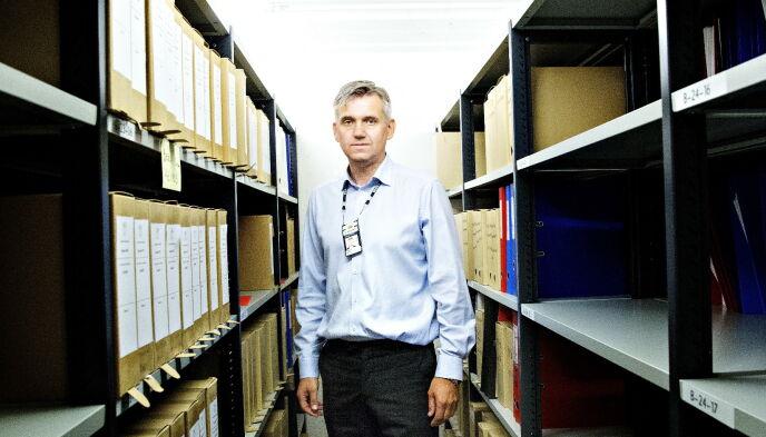 COLD CASE-SJEFEN: Espen Erdal har ledet seksjon for kalde saker i Kripos siden starten i 2015. Foto: Nina Hansen / Dagbladet
