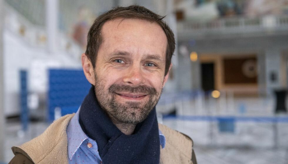 DESPERAT: Hallstein Bjercke (V) er enig med uteliv- og ølpolitikken til MDG, men han mener løftet er et desperat forsøk på å sanke inn stemmer. Foto: Lars Eivind Bones / Dagbladet