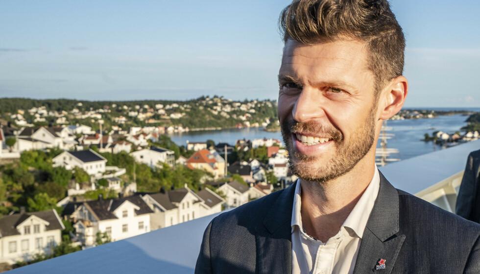 KAN BLI GJENVALG FOR HØYRE: Om Rødt f.eks. havner under, og KrF over sperregrensen, skal det ikke mer til enn at et par prosentpoeng av velgerne hopper tilbake til høyresiden, advarer Rødts partileder Bjørnar Moxnes. Foto: Hans Arne Vedlog / Dagbladet