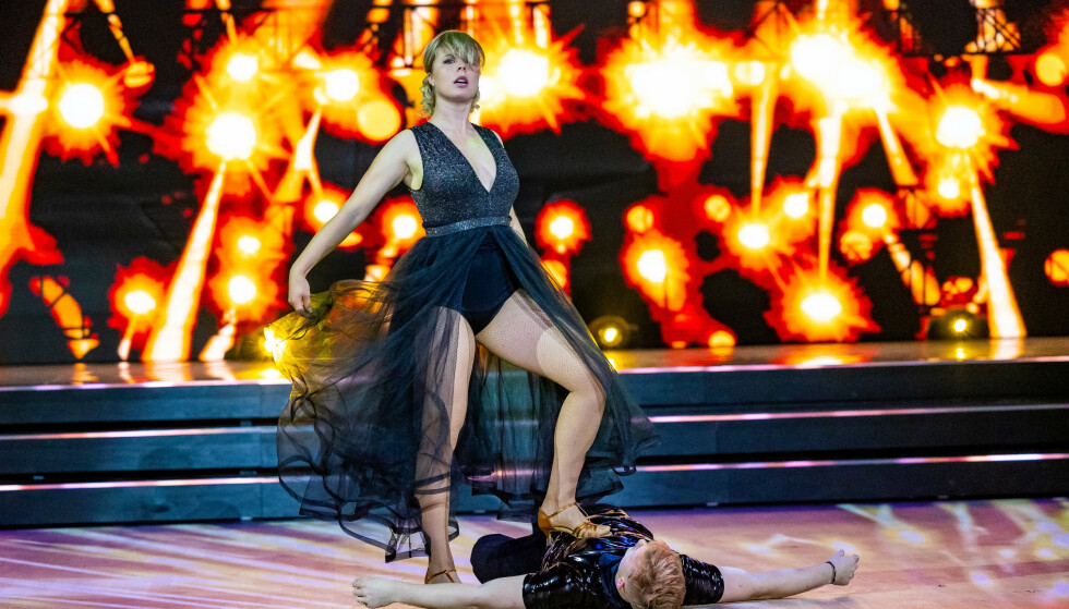 SLÅR TILBAKE: Maren Lundby ser ikke noe problem med å delta i «Skal vi danse». Foto: Thomas Andersen / TV 2