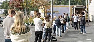 Ber folkeregistrerte vente til valgdagen