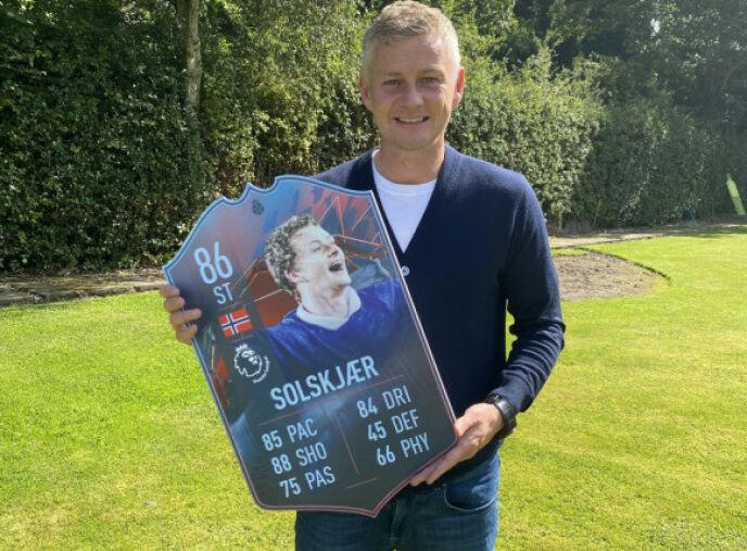 COMEBACK: Solskjær vender tilbake til den virtuelle fotballbanen. Foto: EA Sports