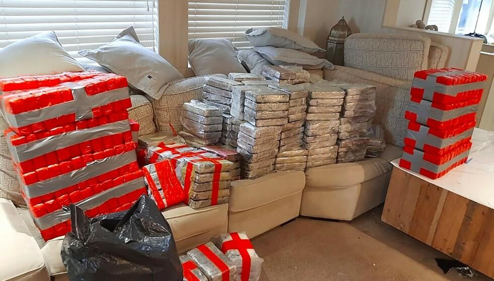 KOKAIN: Det ble funnet enorme mengder kokain om bord på en yacht. Foto: AFP/NTB