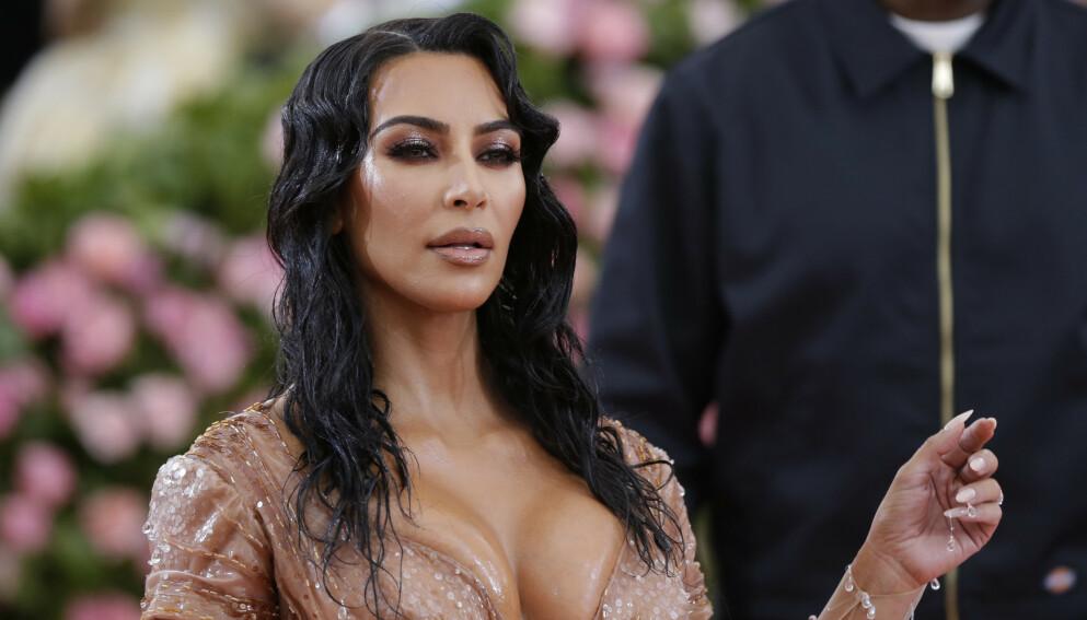 VILLE ANTREKK: Kim Kardashian har gjennom åra hatt på seg en rekke minneverdige antrekk. Her avbildet under Met-gallaen i 2019. Foto: John Angelillo / UPI / Shutterstock / NTB