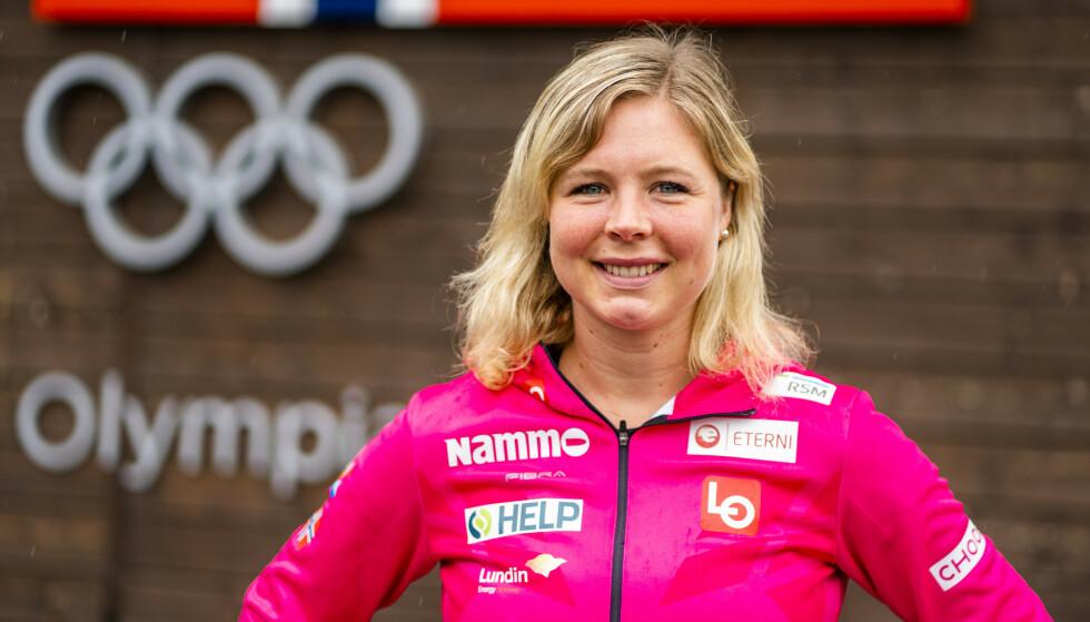 HOPP-DRONNINGEN: Maren Lundby håper på enighet mellom skiforbundet og hoppsjef Clas Brede Bråthen. Foto: Håkon Mosvold Larsen / NTB