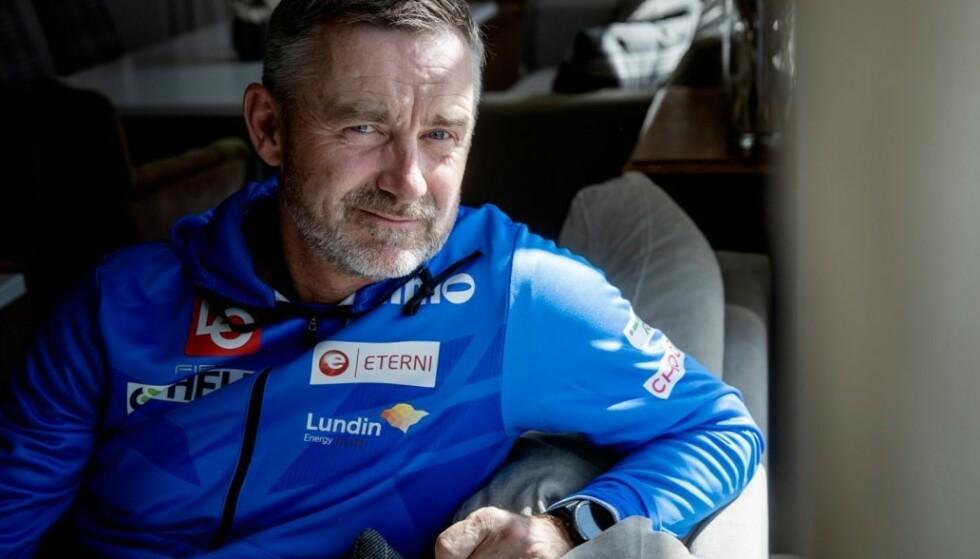 UØNSKET AV FORBUNDET: Hoppernes sportssjef, Clas Brede Bråthen, befinner seg i kamp for å beholde jobben.Foto: Nina Hansen / Dagbladet