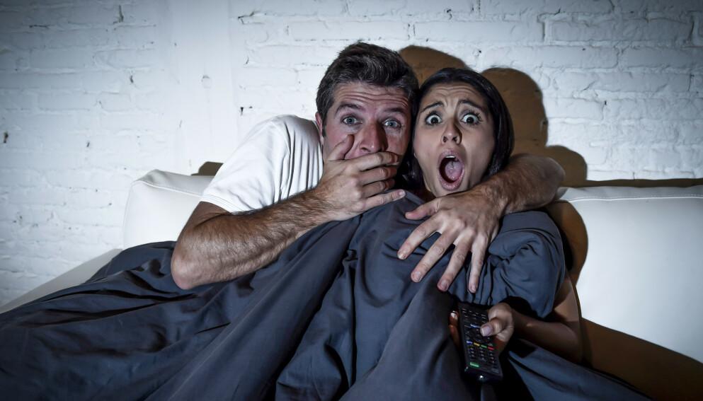 GRØSS OG GRU: Én heldig utvalgt må se 13 utvalgte skrekkfilmer - og få betalt for det. Foto: Shutterstock