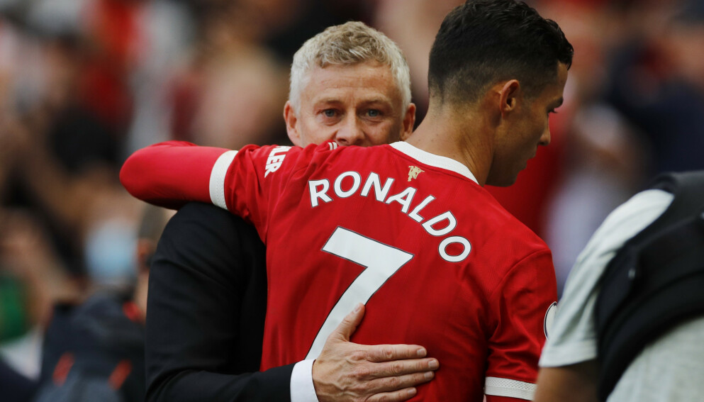 STOR PÅVIRKNING: Cristiano Ronaldo og Ole Gunnar Solskjær. Foto: Reuters