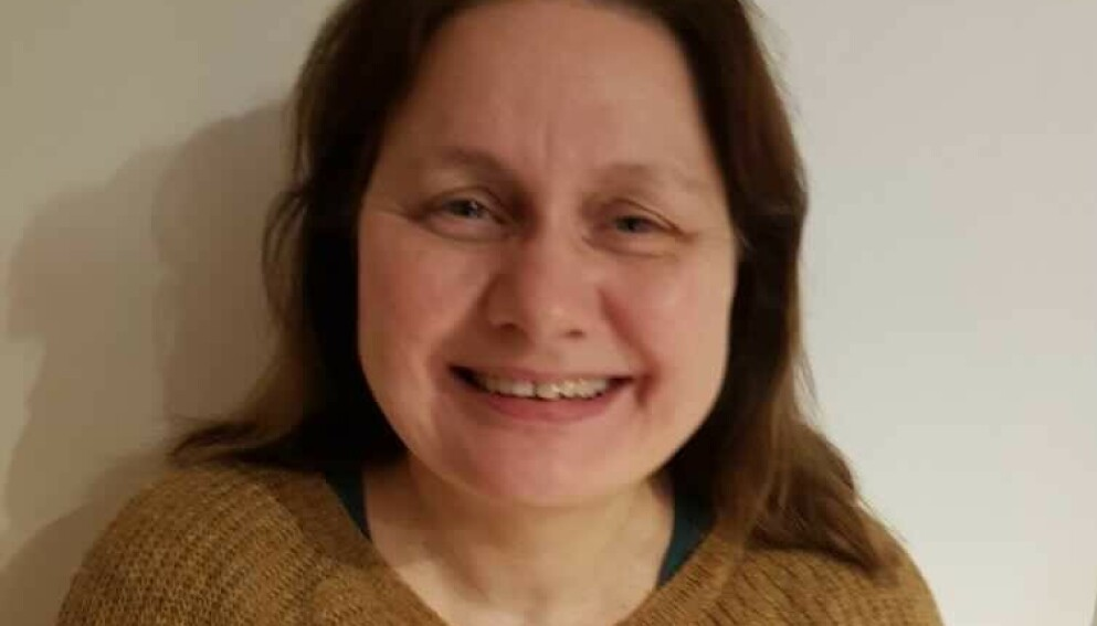 LETTET: Fra å gå fra valglokalet i dag morges med en guffen følelse, er Inger Selven Watts (56) i kveld lettet. Foto: Privat