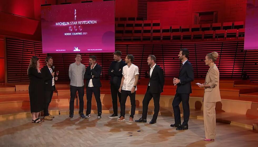 STJERNEKLUBBEN: Den nordiske klubben med tre stjerner ble utvidet med en restaurant i 2021, nemlig Noma i København. Foto: Skjermdump fra Michelin
