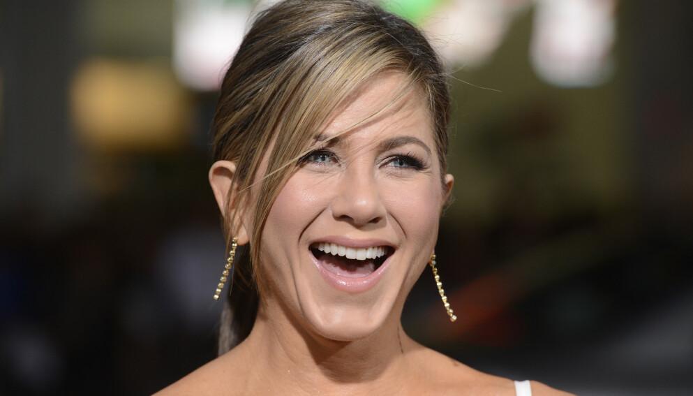 DATE?: Jennifer Aniston har vært singel i flere år. Nå røper hun noe av det hun ser etter i en ny flamme. Foto: Phil Mccarten / UPI / Shutterstock / NTB