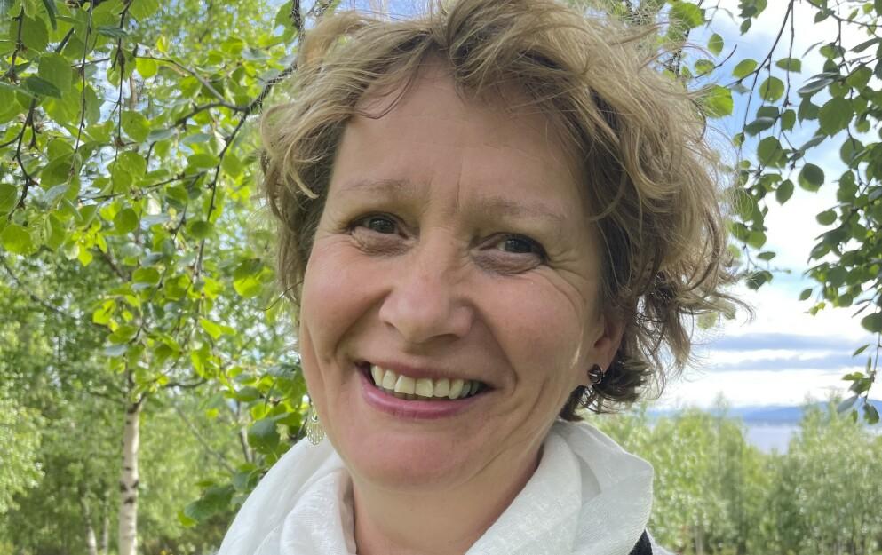 KOM INN: Irene Ojala, 1.kandidat for Pasientfokus, Finnmark kom inn på Stortinget. Foto: Laila Kolostyak / NTB