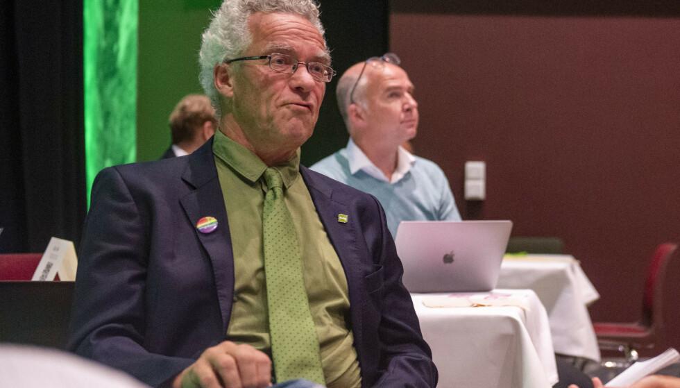 INNE: Rasmus Hansson er en av tre personer som skal reprerestere MDG på Stortinget de neste fire årene. Foto: Annika Byrde / NTB
