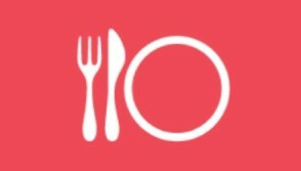 SYMBOLET: Dette er symbolet for «gode matsteder» for «folk flest». Foto: Michelinguiden