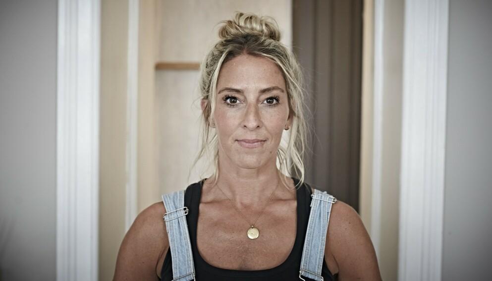 RAMMER BARN: Jannecke var åtte år første gang hun fikk angst. Det har fulgt henne hele livet.