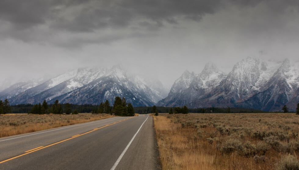 UTEN SPOR: Gabby Petito (22) forsvant sporløst på en biltur med forloveden. Politiet mener et av de siste stedene Petito besøkte var nasjonalparken Grand Tenton i Wyoming. Foto: Dmitry Shlepkin / Shutterstock / NTB