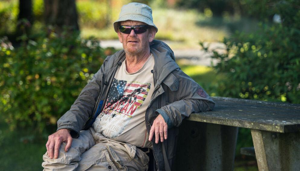 BLE DØMT: I tingretten ble Lars Rasmussen dømt til 21 dagers fengsel. Han forteller at han dyrket marihuana for medisinsk bruk da han sliter med smerter.
