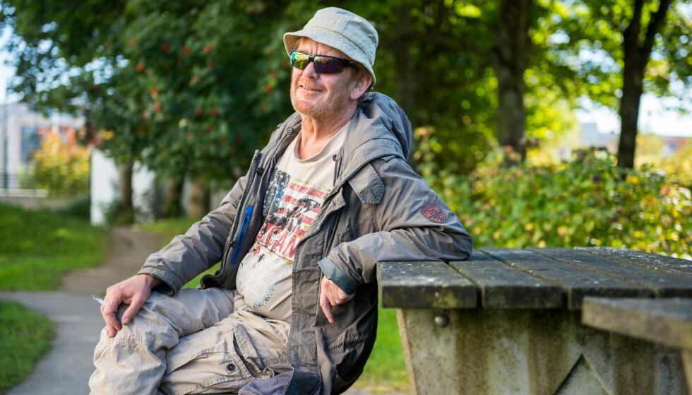 STAVANGER: Lars Rasmussen bor i Stavanger og har tidligere jobbet som trykker.